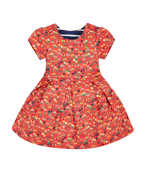 Red Farm Dress